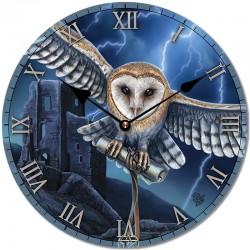 Lisa Parker Wooden Clock Heart Of The Storm