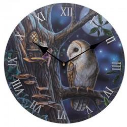 Lisa Parker Wooden Clock Fairy Tales