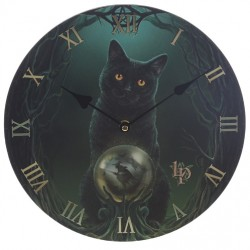 Lisa Parker Wooden Clock Rise Of The Witches