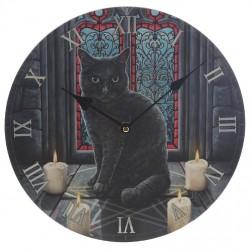 Lisa Parker Wooden Clock Sacred Circle