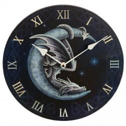 Lisa Parker Wooden Clock Sweet Dreams