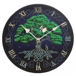 Lisa Parker Wooden Clock Tree Of Life
