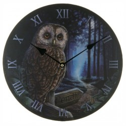 Lisa Parker Wooden Clock Way Of The Witch