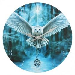 Anne Stokes Wooden Clock Awaken Your Magic