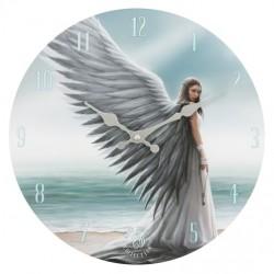 Anne Stokes Wooden Clock Spirit Guide
