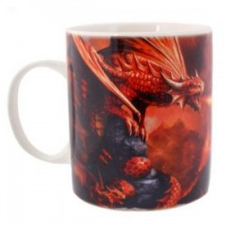 Anne Stokes Mug Age Of Dragons Fire Dragon