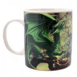 Anne Stokes Mug Age Of Dragons Forest Dragon