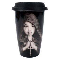 Anne Stokes Travel Mug Gothic Prayer