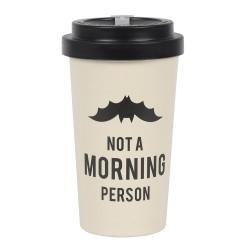 Bamboo Travel Mug Not A Morning Person