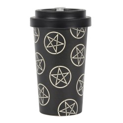Bamboo Travel Mug Pentagram