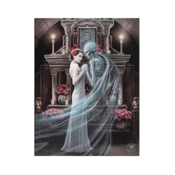 Anne Stokes Small Canvas Print Forever Yours