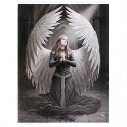Anne Stokes Small Canvas Print Prayer For The Fallen