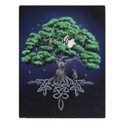 Lisa Parker Small Canvas Print-Tree Of Life