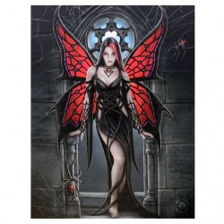 Anne Stokes Small Canvas Print Aracnafaria