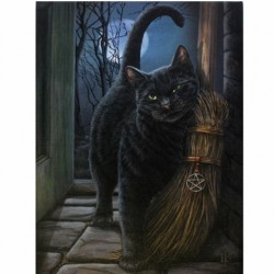 Lisa Parker Small Canvas Print-A Brush With Magic
