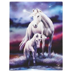 Anne Stokes Small Canvas Print Eternal Bond