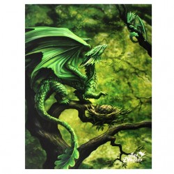 Anne Stokes Small Canvas Print Age Of Dragons Forest Dragon