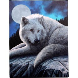 Lisa Parker Small Canvas Print Guardian Of The North