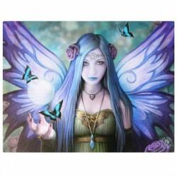 Anne Stokes Small Canvas Print Mystic Aura
