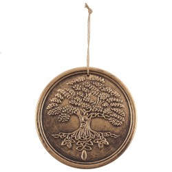 Terracotta Wall Plaque Tree Of Life