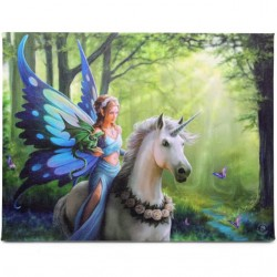 Anne Stokes Small Canvas Print Realm Of Enchantment