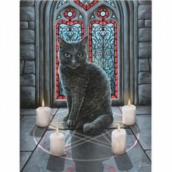 Lisa Parker Small Canvas Print-Sacred Circle
