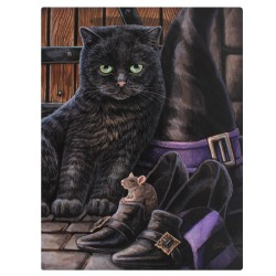 Lisa Parker Small Canvas Print-Trouble and Squeak