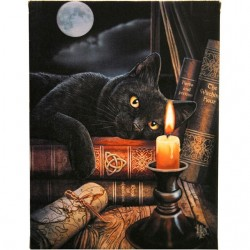 Lisa Parker Small Canvas Print-The Witching Hour