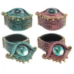 Dragon Eye Trinket Box Green Or Red