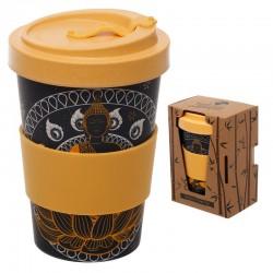 Bamboo Travel Mug Thai Buddha