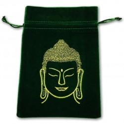 Tarot/Oracle Card Velvet Bag Buddha