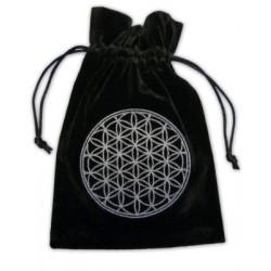 Tarot/Oracle Card Velvet Bag Flower Of Life
