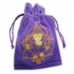 Tarot/Oracle Card Velvet Bag Ganesha