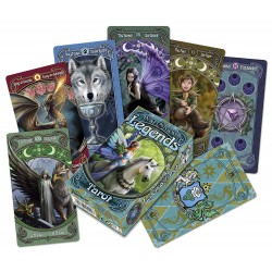 Tarot Cards Anne Stokes Legends