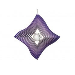 Windspinner Large Purple Diamond