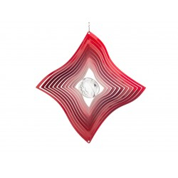 Windspinner Large Red Diamond