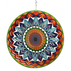 Windspinner Large Rainbow Mandala