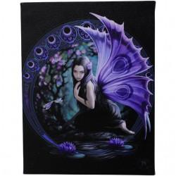 Anne Stokes Small Canvas Print Naiad