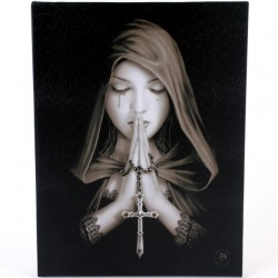 Anne Stokes Small Canvas Print Gothic Prayer