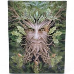 Anne Stokes Small Canvas Print Oak King