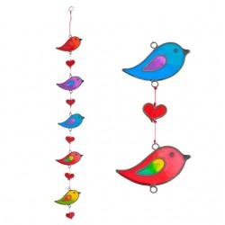 Lovebird String Suncatcher