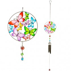 Butterfly Circle Windchime