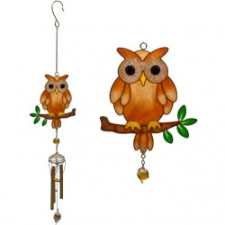 Brown Owl Windchime-Large