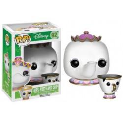 Pop! Vinyl Figurine Disney Beauty & The Beast Mrs Potts