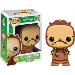 Pop! Vinyl Figurine Disney Beauty & The Beast Cogsworth